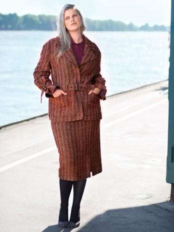 Burda Style | Pencil Skirt (Plus Size) 11/2015#125