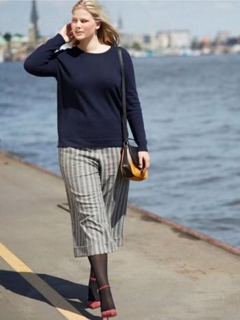 Burda Style | Cuffed Culottes (Plus Size) 11/2015#130