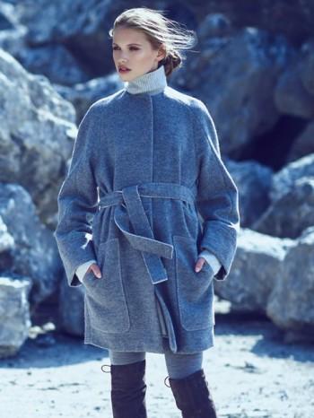 Burda Style | Raglan Sleeve Coat 12/2015#104A