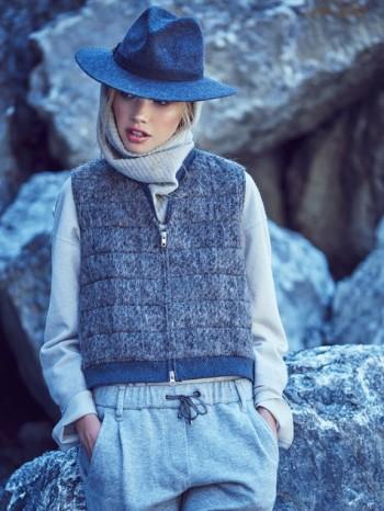 Burda Style | Long Fur Waistcoat 12/2015#106