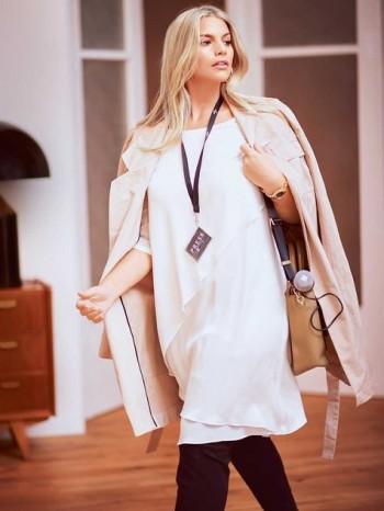 Burda Style | Short Sleeve Tunic (Plus Size) 02/2016#132B