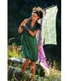 Burda Style | Lace-detail dress 4/2010  #104
