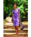Burda Style | V-neck dress 4/2010 #108