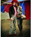 Burda Style | Blouson Houndstooth Jacket 08/2010 #105