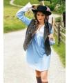 Burda Style | Bib-Front Blouse 10/2010 #120
