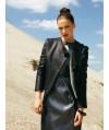 Burda Style | Open-Collar Lambskin Jacket (Petite-Size) 10/2010#126