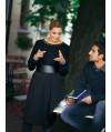 Burda Style | Long Sleeve Dress with Belt 10/2010 #144