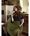 Burda Style | Skirt with Hem Frills 11/2010 #135