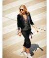 Burda Style | Cropped Velvet Jacket 11/2010 #130