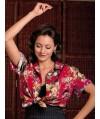 Burda Style | Three quarter sleeve blouse 02/2011 #110B