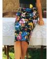 Burda Style | Stretch Pencil Skirt 02/2011#103A