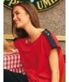 Burda Style | 02/2011 Top with shoulder tabs #115
