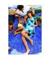 Burda Style   Girl's Ruffle Sleeve Top 06/2011#132