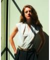 Burda Style   Sleeveless blouse 09/2011 #128