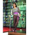 Burda Style | Plus-size Satin trousers 10/2011 #137