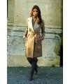 Burda Style   Leather trench coat 10/2011 #106