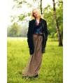 Burda Style | Long print skirt 11/2011 #116B