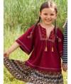 Burda Style   Tassel Blouse 10/2012 #150