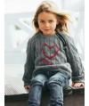 Burda Style | Girl's Zipper Pullover 10/2011 #141