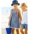 Burda Style   Girl's Yoke Dress 05/2012 #148
