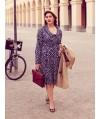 Burda Style | 40s-style Shirtdress (Plus-Size) 08/2013 #138