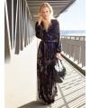 Burda Style | Wrap Maxi Dress 08/2013 #111