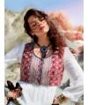 Burda Style   Folk Waistcoat (plus-size) 09/2013 #132