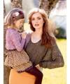 Burda Style   Lace Dolman Top 09/2013 #113