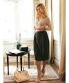 Burda Style   Pleated Midi Skirt 08/2011 #118B
