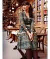 Burda Style   Long Sleeve Dress with Gathers 11/2013 #108