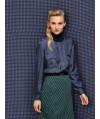 Burda Style   Blouse with Hidden Closure 12/2013 #115