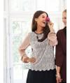 Burda Style   Lace Top 12/2013 #114