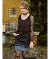 Burda Style | Denim Mini Skirt 02/2014 #108