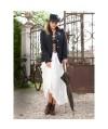 Burda Style   Elasticated Maxi-Skirt (Plus Size) 09/2012 #142