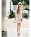 Burda Style   Peplum Sleeve Dress 02/2014 #112
