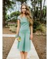 Burda Style | Pleated A Line Skirt 02/2014#105