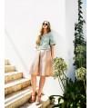 Burda Style | A Line Skirt with Pleated Yoke 02/2014#106