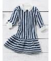 Burda Style   Girl's Drop Waist Dress 05/2014#143