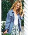 Burda Style | Oversized Button Up Shirt 03/2012#117