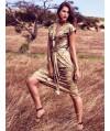 Burda Style | Shawl Collar Dress 07/2014#117B