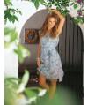 Burda Style | Sheer Wrap Dress 04/2011#133
