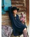 Burda Style | Sheer Placket Dress with Slip 10/2010 #122
