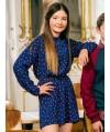 Burda Style | Long Sleeve Raglan Dress 10/2014#145