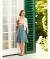 Burda Style   Wrap Yoke Skirt 11/2014#112