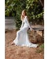 Burda Style   Mini Lace Wedding Dress with Long Petticoat (Petite-Size) 03/2015 #117