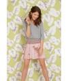 Burda Style | Pleated Mini Skirt 04/2015 #117A