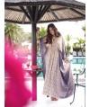 Burda Style   Boho Maxi Dress (Plus Size) 04/2015#130B