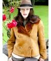 Burda Style   Fur Collar Jacket (Plus Size) 11/2010#138