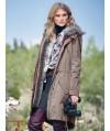 Burda Style | Faux Fur Trimmed Coat 01/2016#123