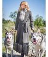 Burda Style | Faux Fur Coat 01/2016#122